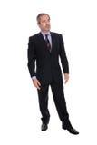 Retrato do homem de negócio imagem de stock