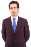 Retrato do homem de negócio novo Fotos de Stock
