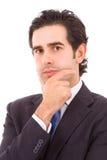 Retrato do homem de negócio novo Imagens de Stock
