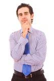 Retrato do homem de negócio novo Foto de Stock Royalty Free