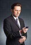 Retrato do homem de negócios foto de stock