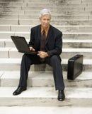 Retrato do homem de negócios. Fotografia de Stock