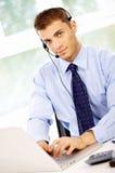 Retrato do homem de negócios Imagem de Stock
