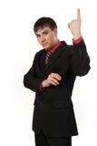 Retrato do homem de negócios considerável Foto de Stock
