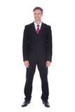 Retrato do homem de negócios maduro feliz Fotos de Stock Royalty Free
