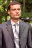 Retrato do homem de negócios novo Imagem de Stock