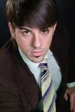 Retrato do homem de negócios novo Imagens de Stock Royalty Free