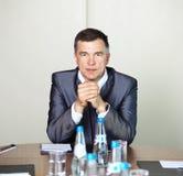 Retrato do homem de negócios sênior foto de stock royalty free
