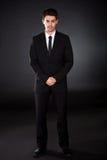Retrato do homem de negócios de sorriso Fotografia de Stock Royalty Free