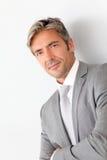 Retrato do homem de negócios maduro Imagens de Stock Royalty Free