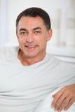 Retrato do homem de sorriso imagem de stock royalty free