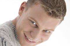 Retrato do homem de sorriso Fotografia de Stock