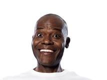 Retrato do homem de sorriso surpreendido Fotografia de Stock Royalty Free