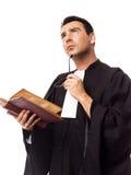 Retrato do homem do advogado Imagem de Stock Royalty Free
