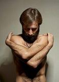 Retrato do homem do iogue fotos de stock royalty free