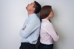 Retrato do homem e da mulher imagem de stock