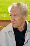 Retrato do homem idoso Fotografia de Stock