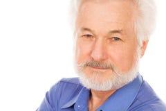 Retrato do homem idoso considerável fotos de stock