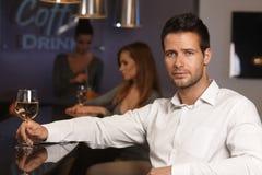 Retrato do homem infeliz Imagem de Stock Royalty Free
