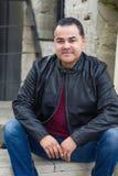 Retrato do homem latino-americano considerável fotografia de stock