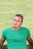 Retrato do homem novo Fotos de Stock Royalty Free