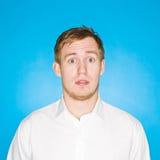 Retrato do homem novo Imagem de Stock Royalty Free