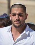 Retrato do homem novo do judeu Imagens de Stock