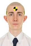 Retrato do homem novo - manequim do ruído elétrico Fotos de Stock