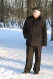 Retrato do homem sênior Imagens de Stock Royalty Free