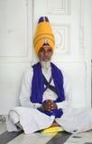 Retrato do homem sikh em Amritsar, Índia Imagens de Stock Royalty Free