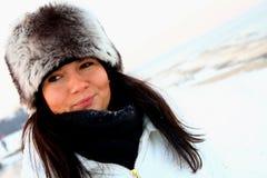 Retrato do inverno Imagem de Stock