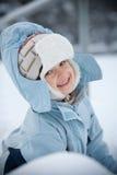 Retrato do inverno Imagens de Stock