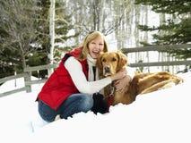 Retrato do inverno. Imagens de Stock Royalty Free