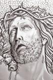 Retrato do Jesus Cristo foto de stock royalty free