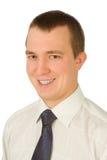 Retrato do jovem afortunado Imagem de Stock Royalty Free