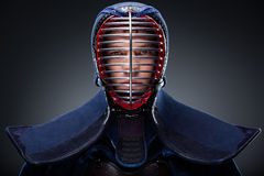 Retrato do kendoka Imagens de Stock