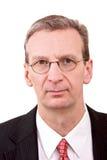 Retrato do macho da gerência média Imagem de Stock