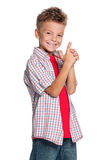 Retrato do menino Imagem de Stock