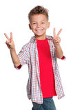 Retrato do menino fotografia de stock royalty free