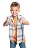 Retrato do menino fotos de stock