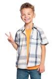 Retrato do menino imagens de stock