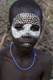 Retrato do menino africano Imagens de Stock Royalty Free