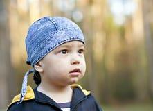 Retrato do menino asiático Fotos de Stock
