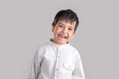 Retrato do menino de sorriso Fotografia de Stock