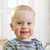 Menino dos anos de idade do retrato Foto de Stock
