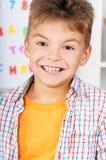 Retrato do menino feliz Imagens de Stock