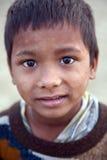 Retrato do menino indiano fotos de stock