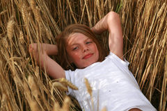 Retrato do menino novo Fotografia de Stock Royalty Free