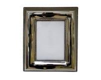 Retrato do metal e frame antigos da foto Imagem de Stock Royalty Free