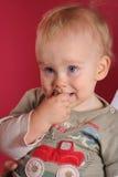 Retrato do miúdo Foto de Stock Royalty Free